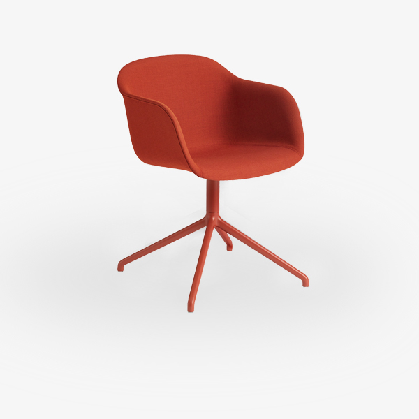 stoel-muuto-la-fiber-armchair-swivel-base-upholstery-003-rood