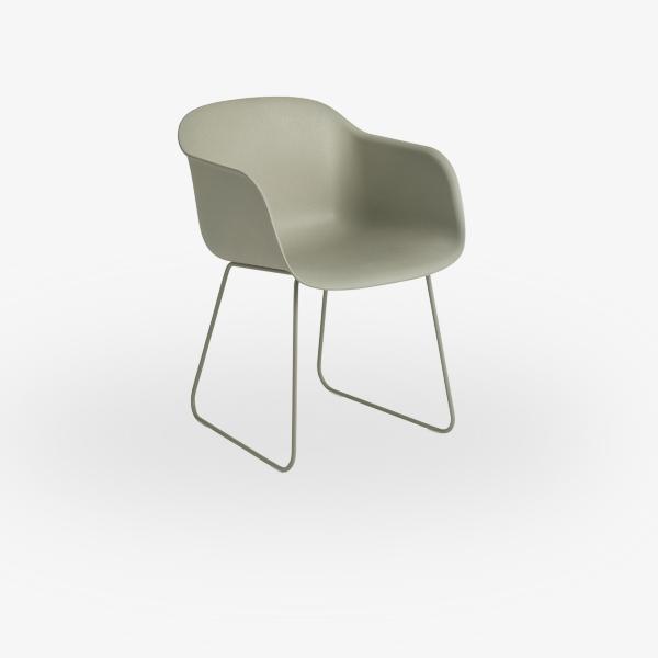 stoel-muuto-la-fiber-armschair-sled-base